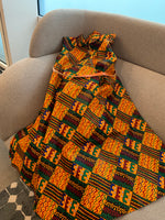 Long Kente Free Dress