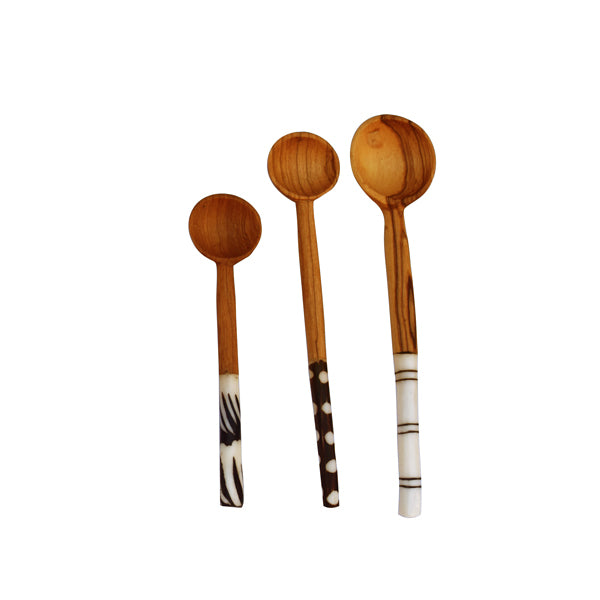 TEA WOODEN SPOONS