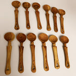 Small and Large Wooden Tea Spoons