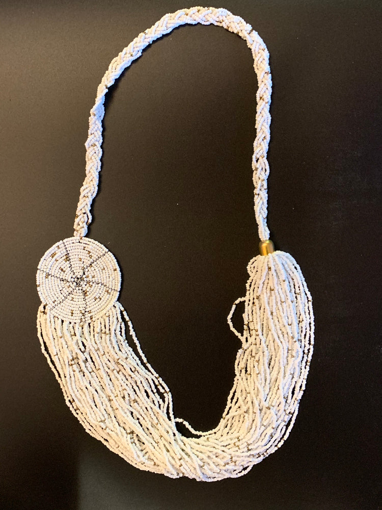 White African Beaded Necklace