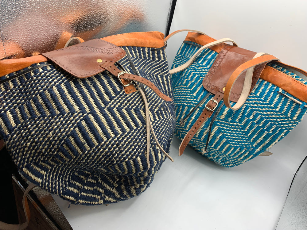 Kenyan Large Sisal Tote Bag