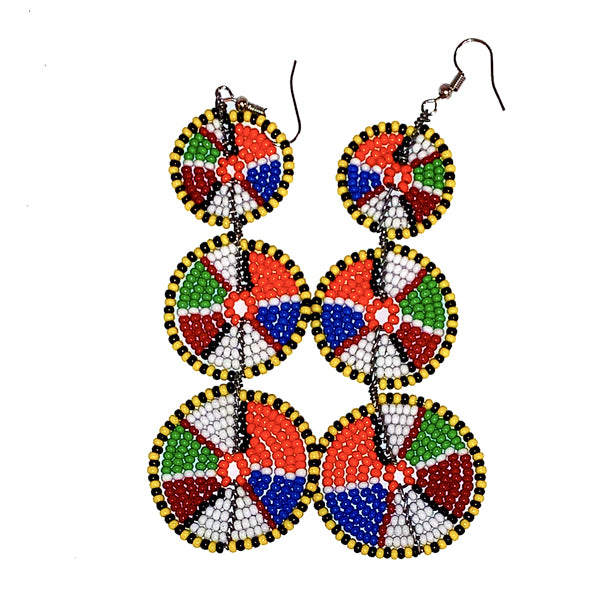 Maasai Beaded Earrings