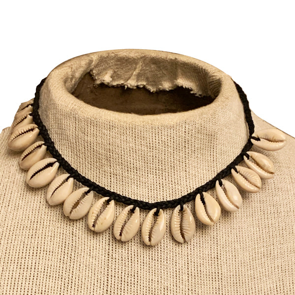Men's African Cowrie Shell Necklace