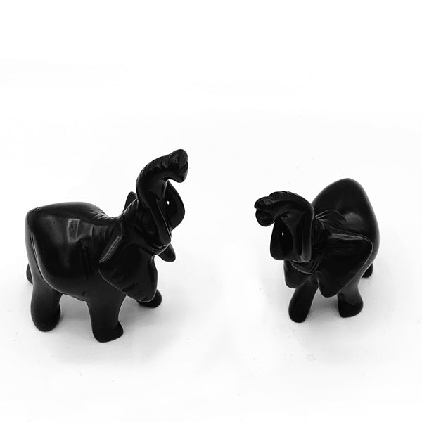Hand-carved Soapstone Elephant