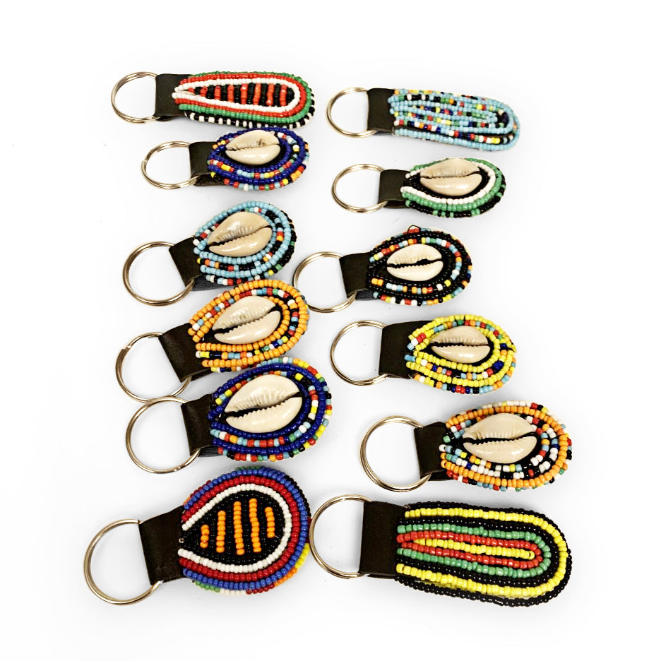 Maasai Beaded Keychains | Wholesale Discount