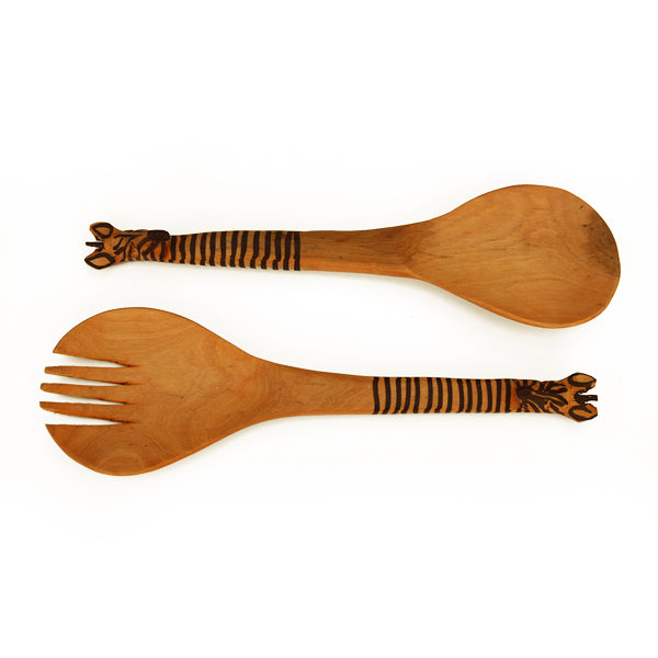 Animal Style Pattern Wooden Spoons