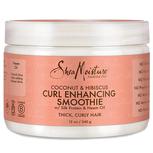Shea Moisture Coconut & Hibiscus - Curl Enhancing Smoothie - Curly & Fierce