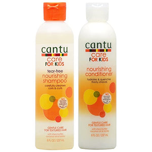 Cantu Care for Kids Nourishing Shampoo & Conditioner Duo - Curly & Fierce