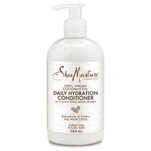 Shea Moisture 100% Virgin Coconut Oil Daily Hydration Conditioner - Curly & Fierce