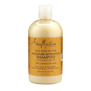 Shea Moisture shampoo - Raw Shea Butter - Curly & Fierce