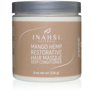 Inahsi Mango Hemp Restorative Deep Conditioner 8oz / 226 ml - Curly & Fierce