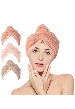 Fast absorbent Microfiber hair turban - Curly & Fierce