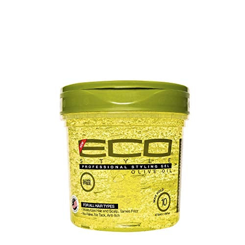 ECO Styler Professional Styling Gel, Olive Oil, Max Hold 10, 16 oz - Curly & Fierce
