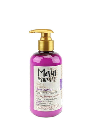 MAUI MOISTURE HEAL & HYDRATE + SHEA BUTTER COMBING CREAM 8 FL OZ. - Curly & Fierce
