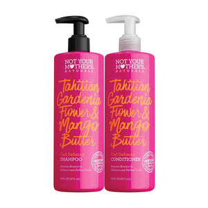 Not Your Mother's Curl Defining Tahitian Gardenia Shampoo & Conditioner Dual Pack - Curly & Fierce
