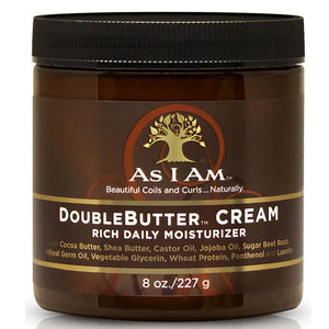As I Am DoubleButter Daily Moisturiser Cream - Curly & Fierce