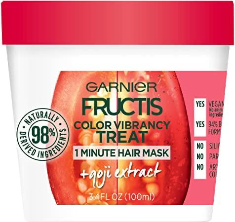 Color Vibrancy Treat 1 Minute Hair Mask + Goji Extract - Curly & Fierce