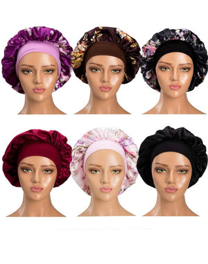 Breathable Satin Bonnet - Curly & Fierce