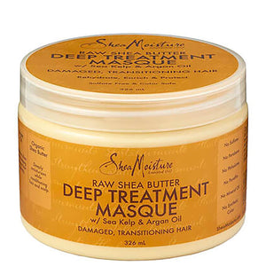 Shea Moisture Raw Shea Butter Deep Treatment Masque - Curly & Fierce