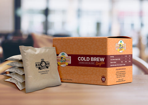 Cold Brew Hawaiian Blend Singles
