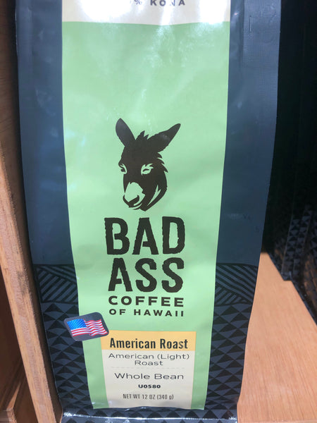 100% Kona American Roast 12 oz whole bean