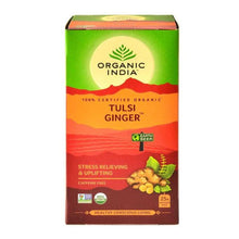 Load image into Gallery viewer, TULSI GINGER TEA 25 Tea Bag【ORGANIC INDIA】