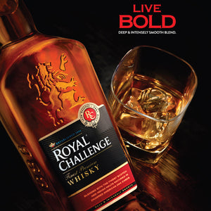ROYAL CHALLENGE WHISKY 750ml【ROYAL CHALLENGE】<br>ロイヤルチャレンジ  ウィスキー