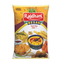 Load image into Gallery viewer, BESAN 1KG [RAJDHANI] <br> Besan Galvanzo Powder Chickpea Powder
