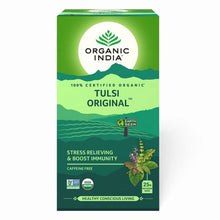 Load image into Gallery viewer, TULSI ORIGINAL 25 Tea Bags【ORGANIC INDIA】