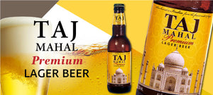 TAJ MAHAL PREMIUM LAGER BEER 330ML【UB Group】タージマハルビール