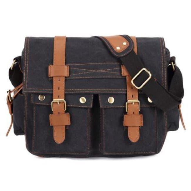 1e99f7fe177f ... Canvas Bag Male Laptop Bag Student Boys Bookbag Messenger Bag Shoulder  Bag Mens Messenger Bag ...
