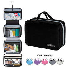 7ee1106deaa0fc Hanging Travel Toiletry Bag for Men and Women | Makeup Bag | Cosmetic Bag |  Bathroom