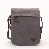 Eagle Men's Canvas Cross Body Shoulder Utility Messenger Bag