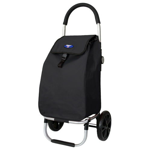 Eagle London Shopping Trolley, Folding Trolley on Wheels with Durable Bag and Foldable Design