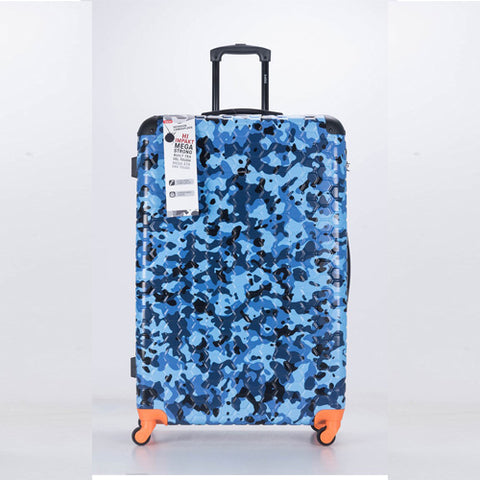Premium Quality ABS Hard Shell Urban Camouflage Print Spinner Suitcase with Built in Lock - XL 32 Inch
