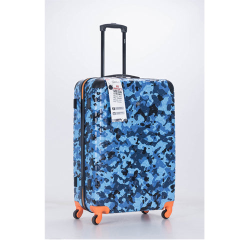 Premium Quality ABS Hard Shell Urban Camouflage Print Spinner Suitcase with Built in Lock -  Large 28 Inch