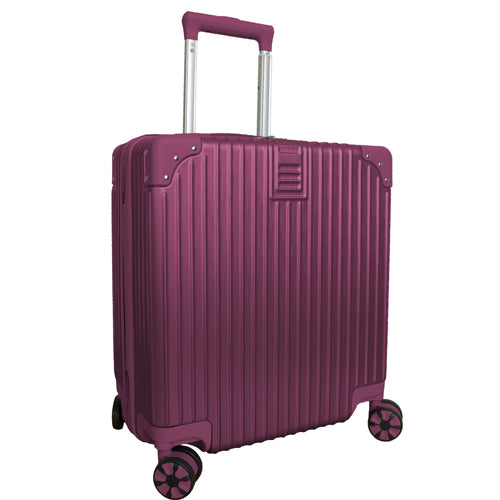 ABS Hard Shell Case PC Travel Luggage Suitcase 4 Wheel Cabin Wheeled Bag
