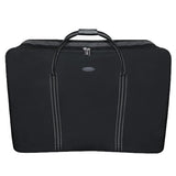 4 Wheel Super Lightweight Folding Suitcase Cargo Zip Bag for Holiday & Travel