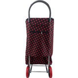 Eagle London 2 Wheel Folding Shopping Trolley - Stars & Polka Dots