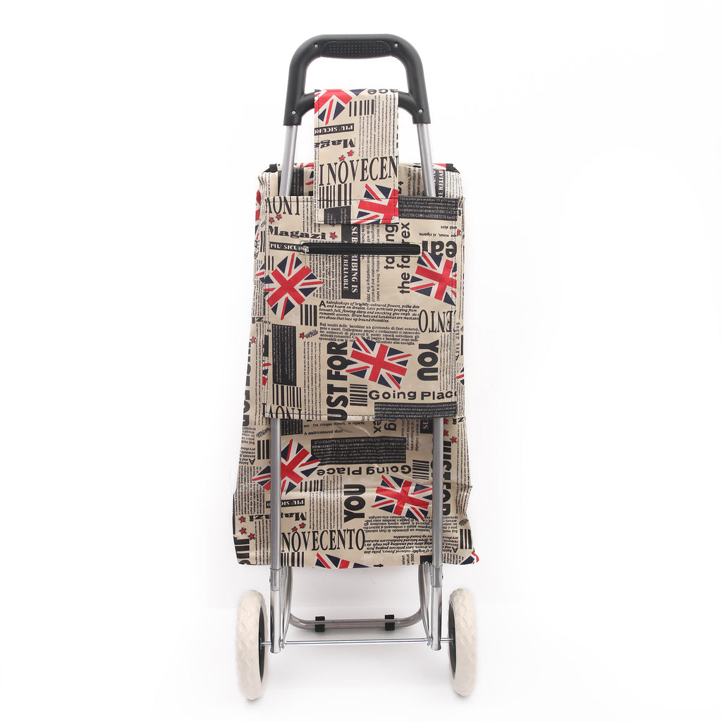 Eagle London 2 Wheel Shopping Trolley - Multi print Summer Collection
