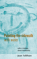 Photo of Painting the Sidewalk with Water