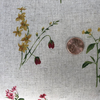 Japanese Floral Sheeting fabric - Fabricanaus