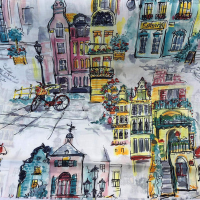 Digital Print Japanese Cotton Lawn Fabric.