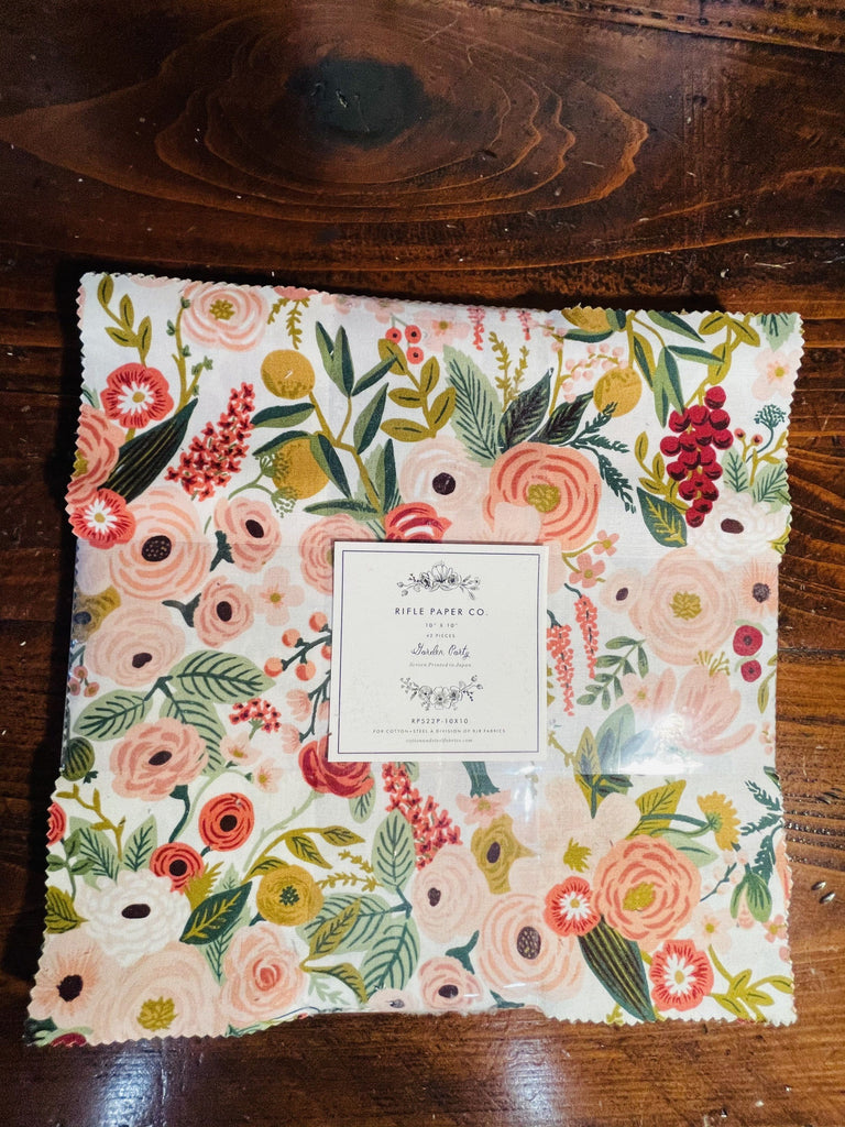 Garden Party 10 x 10 Pack 42 Pc bundle by Rifle Paper Co.
