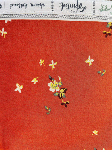 Art Gallery Fabric Delicate Balance Sienna from Spirited by Sharon Holland.