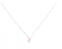 Go Rings Bezel Necklace - Silver