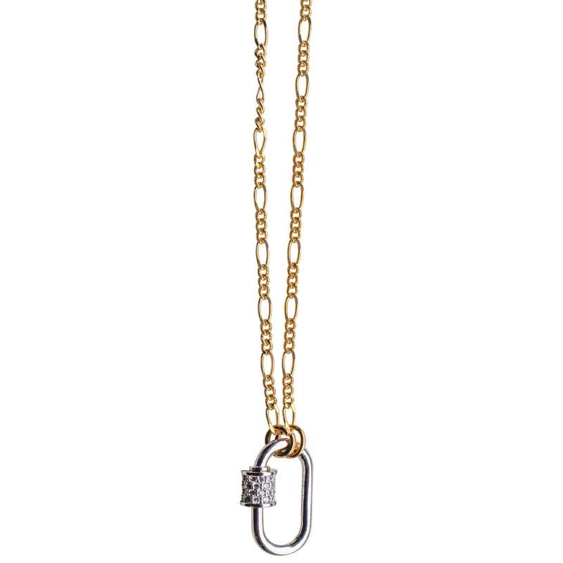Gemelli Caroline Necklace Gold