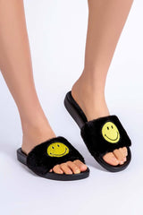 Pj Salvage Smiley Slippers