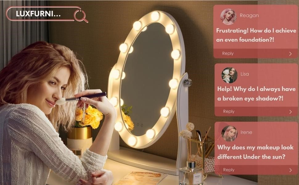 4 things you should consider before buying the right makeup mirror with lights.