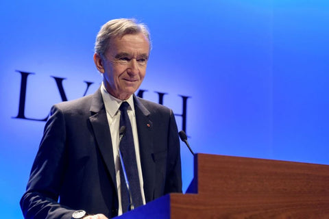 Bernard Arnault- Chief Executive of LVMH Moët Hennessy – Louis Vuitton SE and the world's third-richest man.